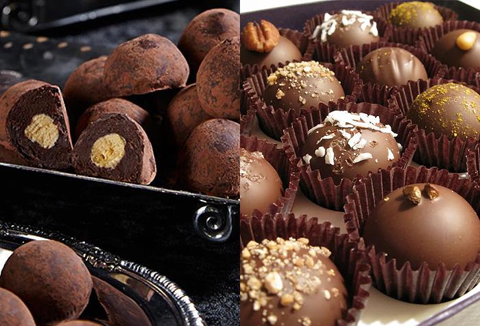 os melhores chocolates do mundo