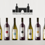 Garrafas de vinhos do Game of Thrones