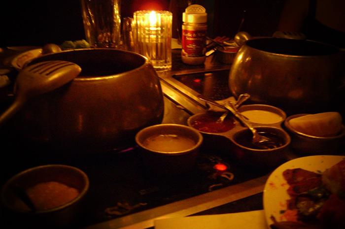 vinhos com fondue