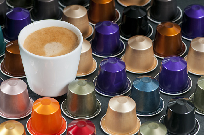 café em cápsula
