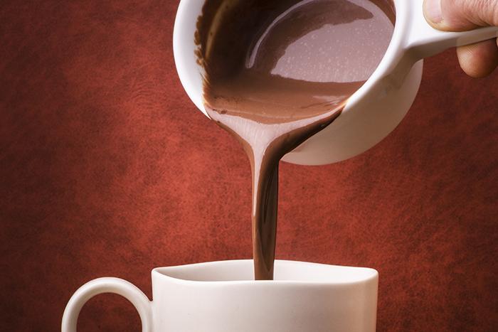 fazer chocolate quente