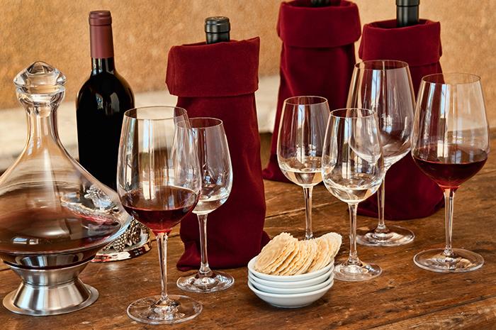 decantar vinho